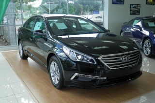 Hyundai Sonata 2.4l Se Negro 2015