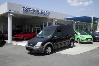 Ford Transit Connect Xl Negro 2012