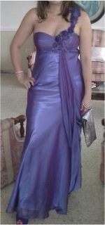 Traje formal purpura