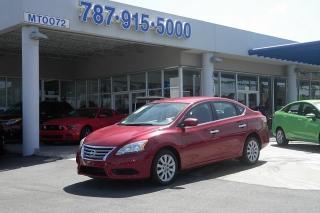Nissan Sentra S Rojo 2013