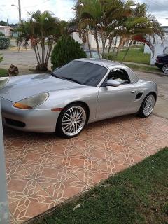 Porsche Boxster 1999 Gris (Importado) Doble Capota