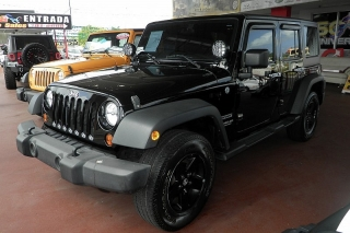 Jeep Wrangler Unlimited Sport Negro 2012