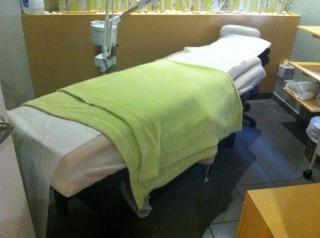 Camilla para uso de estetica y masaje
