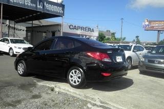 Hyundai Accent Gl Negro 2012