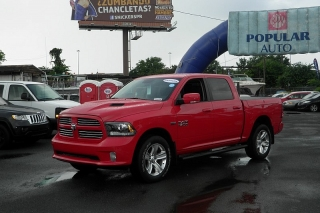 Dodge 1500 Pickup Sport Rojo 2014