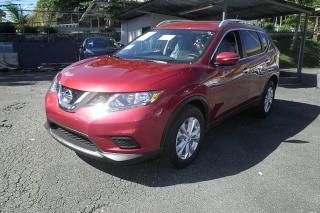 Nissan Rogue Sv Rojo 2015