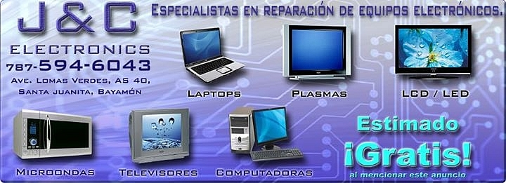 REPARACION DE EQUIPOS ELECTRONICOS!