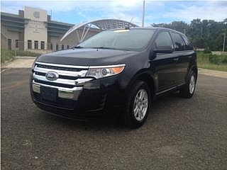 FORD EDGE 2011 NEGRA