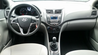 Hyundai Accent GL Marron 2015