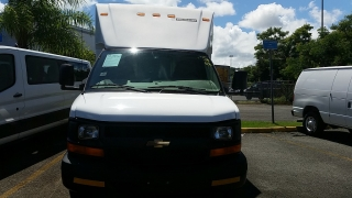 Chevrolet Express Commercial Cutway Blanco 2014