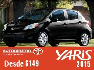 Toyota Yaris L Rojo 2015