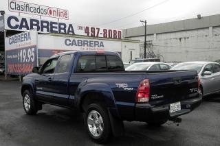 Toyota Tacoma Prerunner Azul 2007