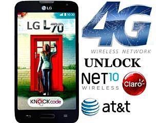 LG L70 4G!! NUEVO T-MOBILE/CLARO/AT&T