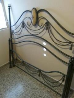 frame en metal victoriano para cama queen