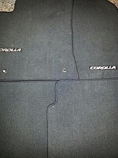 set de alfombras toyota corolla s 2013  nuevas