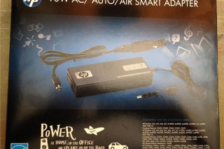 HP 90W AC/AUTO/AIR SMART ADAPTER