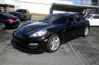 Porsche Panamera 4 Negro 2013