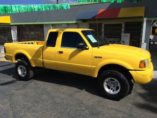 FORD RANGER 2001 4X4 AUTOMATICO $4,995