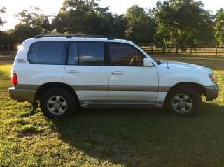 Toyota land cruiser 1999 Blanco