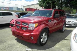 Dodge Nitro Sxt Rojo 2011