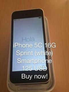 iPhone 5C / 16G Sprint (White Smartphone)