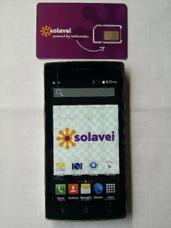 "o- Smartphone 5"" + Plan de Voz, textoy data ilimitado"