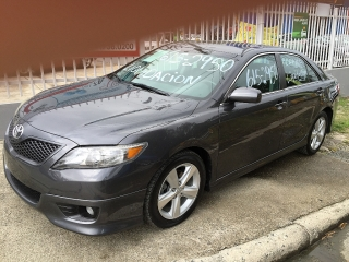 TOYOTA CAMRY SE 2011 4CILINDROS $14,995