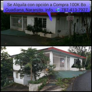 ALQUILER DE CASAS CON OPCION A VENTA 100K