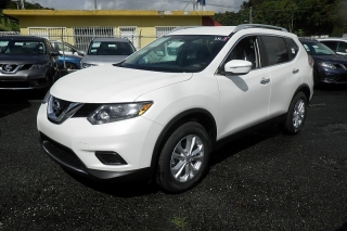 Nissan Rogue Sv Blanco 2014
