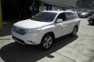 Toyota Highlander Limited Blanco 2011