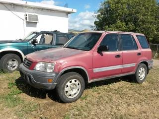Honda CR-V 1998 Rojo