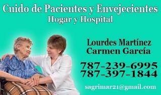 Cuido Pacientes y Envejecientes