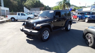 Jeep Wrangler Unlimited Sport Negro 2011