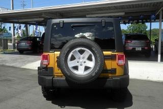 Jeep Wrangler Unlimited Sport Amarillo 2014