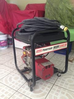 Colman 5500 watts con ruedas