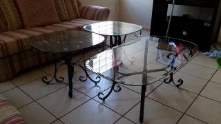 Juego de tres mesas de sala