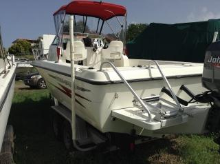 Hydra-Sport 23' con Johnson 225