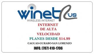 Internet de Alta Velocidad Residencial y Comercial