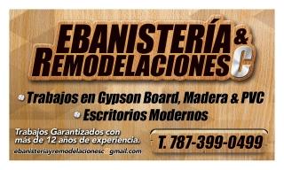 Ebanisteria&RemodelacionesC