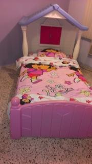 cama para niña
