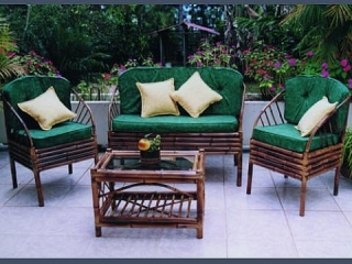 Juego terraza rattan for Amazon muebles terraza
