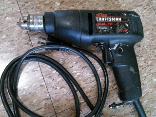Taladro Craftsman 1/3 HP Reversible