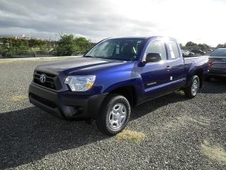 Toyota Tacoma Base Azul Oscuro 2015