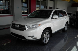 Toyota Highlander Limited Blanco 2012