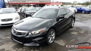 HONDA ACCORD EX V6 COUPE 2012 EUROJAPON
