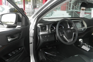 Toyota Highlander Limited Plateado 2015