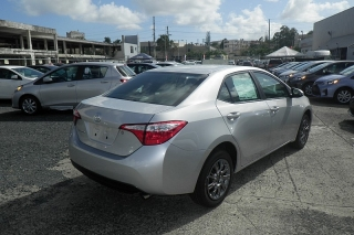 Toyota Corolla L Plateado 2015