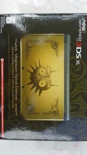 New Nintendo 3DS XL Majora's Mask Edition!!