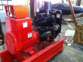 Planta Eléctrica  Diesel Marca Perkins con capacidad de 28.5 kVA