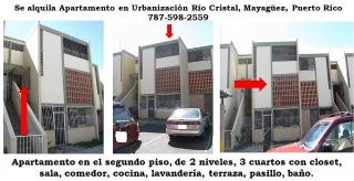 Se Alquila Apartamento en Urb Rio Cristal en Mayaguez